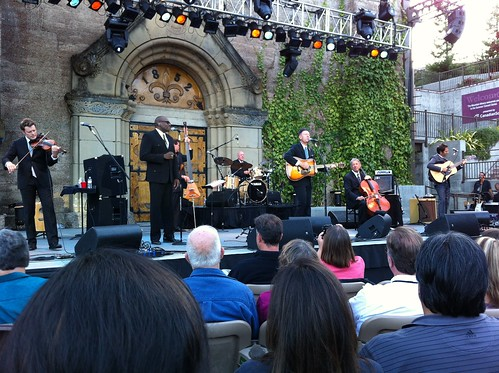Had awesome seats for Lyle Lovett