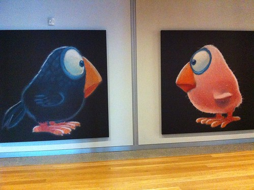 Artwork at Pixar