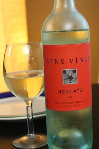 Nine Vines Moscato (2011)