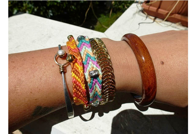 tina, bracelets, fair vanity fair trade, style challenge, giveaway, arm candy