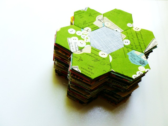 stack of hexies