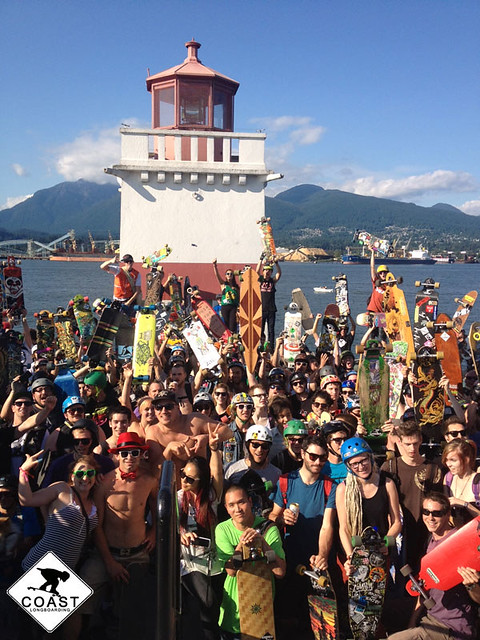 seawall cruise group pic
