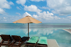 Infinity Pool Malediven