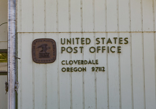 US Post Office - Cloverdale, Oregon 97112