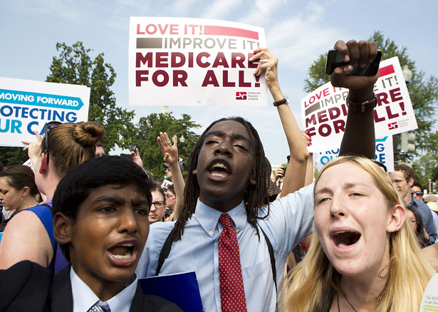 Young People Demand Medicare for All