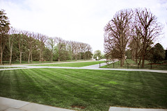 Looking NE across quadrangle - Tomb of the Unknown Soldier - Arlington National Cemetery - 2012