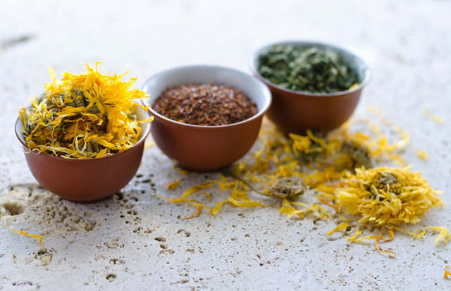 Nourishing Calendula Tea by Mary Banducci