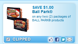 Ball Park Products Coupon