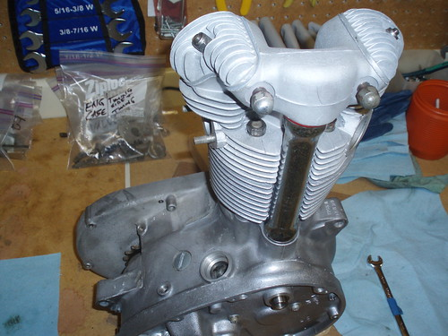 Engine nearly completed