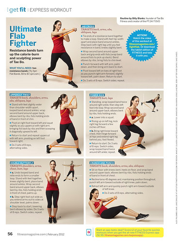 Kara Fitness Magazine February 2012