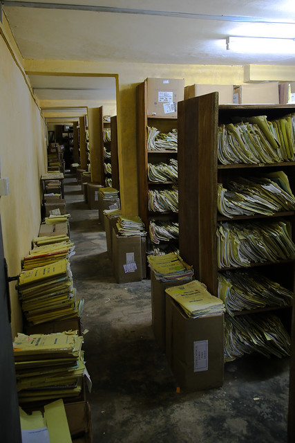 Korle Bu Teaching Hospital File Room