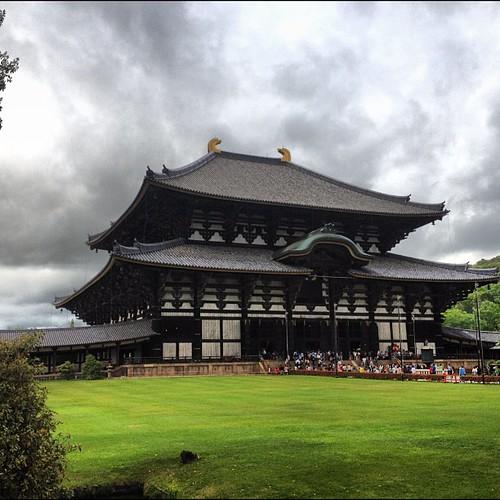 Nara. El edificio de madera más grande del mundo