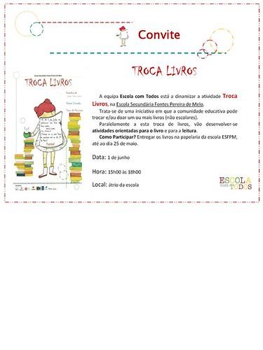 ConviteTrocaLivros
