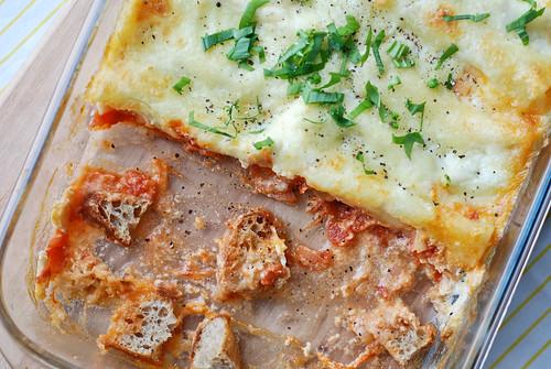 karulaugu-ricotta kannelloonid/ramson and ricotta cannelloni
