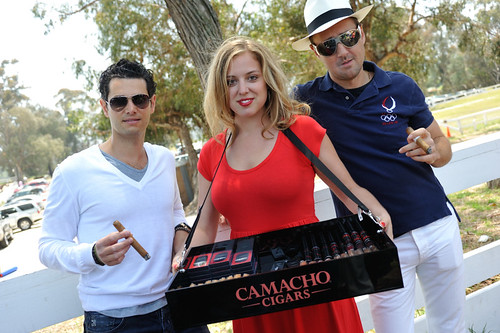 Supper Club LA Polo Party feat Camacho Cigars