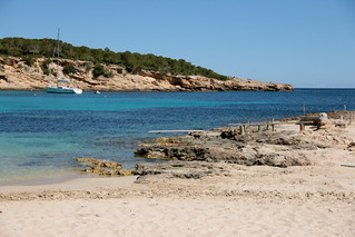 Billede af  Cala Comte i nærheden af  Sant Antoni de Portmany. españa islands spain islas spagna baleares isole baleari