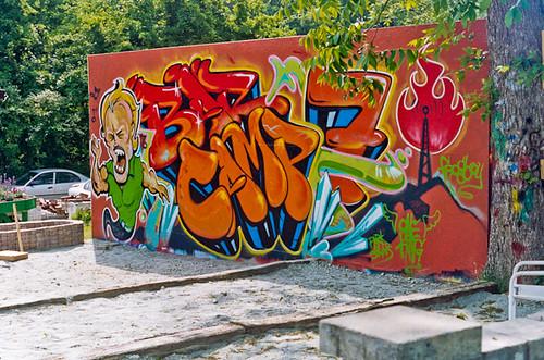 Graffiti Wall - Area 15 - NODA