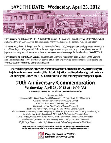 Japanese American Internment Commemoration Ceremony