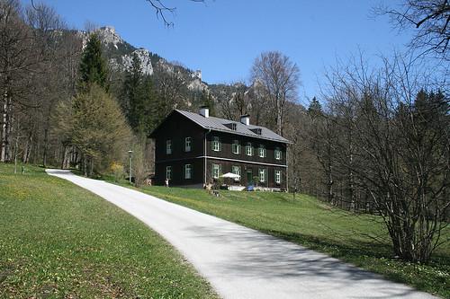Ehemalige Bauhütte - Schloß Linderhof