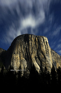Moonlight on El Capitan