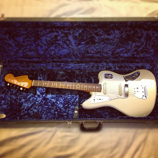 Photo:My new love- the Johnny Marr Signature Fender Jaguar! By ToGa Wanderings
