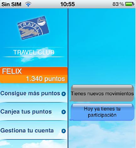 BS Móvil - Puntos Travel Club