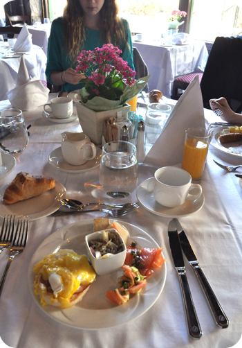 Montebello brunch, first serving of many!