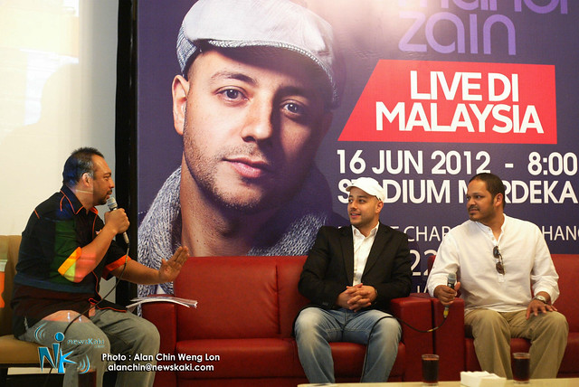 Maher Zain press conference 1