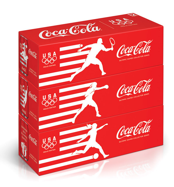 Team USA Coca Cola cans