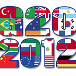 G20 2012, Color Flags - Illustration