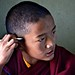 Focused Young Monk by Valerie Rosen