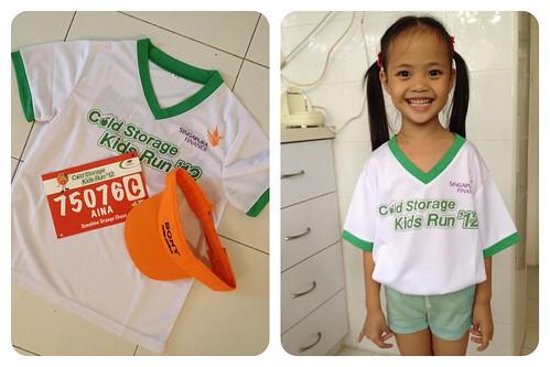 cold storage kids run 2012 racepack