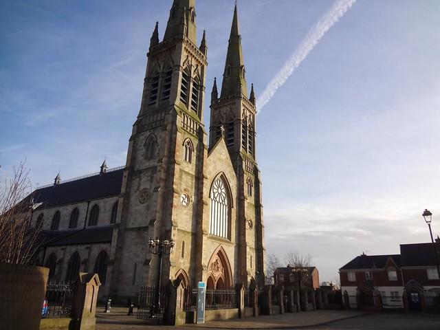 Catedral de São Pedro em Belfast, Irlanda do Norte