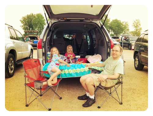At the Drive-In to see The Lorax!