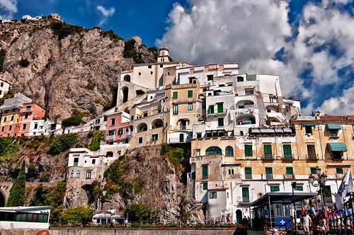 port building at Amalfi