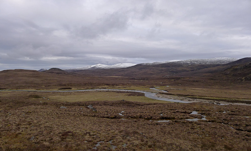 The lower hills south of Glen Orrin