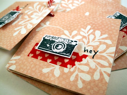 Hey Mini Notecard set