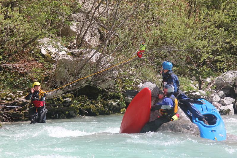 River Leader Training on Soča