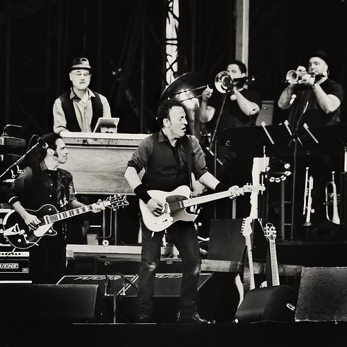 Pinkpop 2012 mashup foto - Bruce Springsteen at Pinkpop 2012