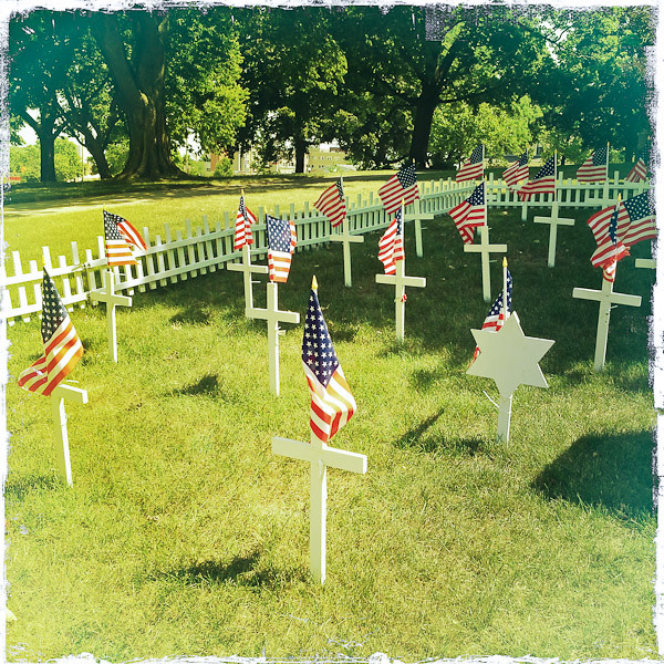 Memorial Day Tribute at Courthouse