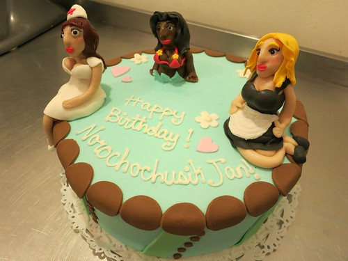 Sexy Girls Cake by CAKE Amsterdam - Cakes by ZOBOT