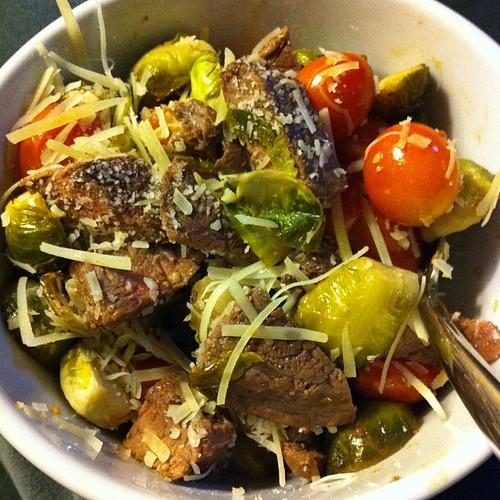 Steak Salad #wfd