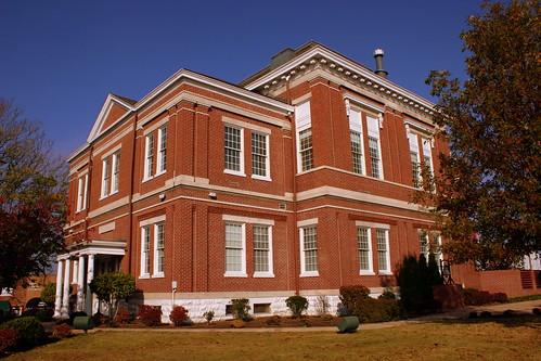 Tipton County Courthouse Corner View - Covington, TN