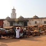 Foumban: market and mosque