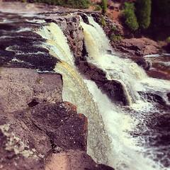 Upper Gooseberry Falls, northern Minnesota