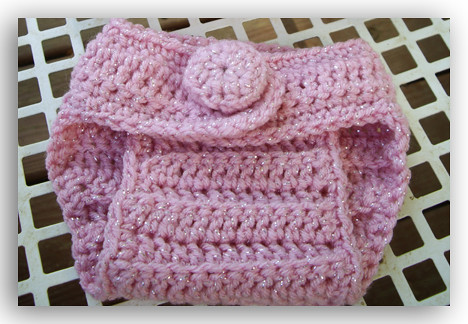 Free Crochet Patterns For Boot Covers : Free Crochet Diaper Cover Pattern images
