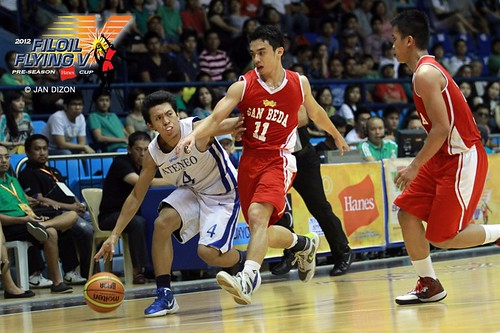 2012 FilOil Battle for 3rd place-Ateneo Blue Eagles vs. San Beda Red Lions