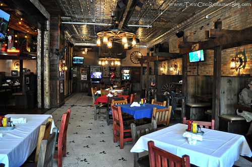 Dining Room at Cowboy Jack's ~ St Cloud, MN
