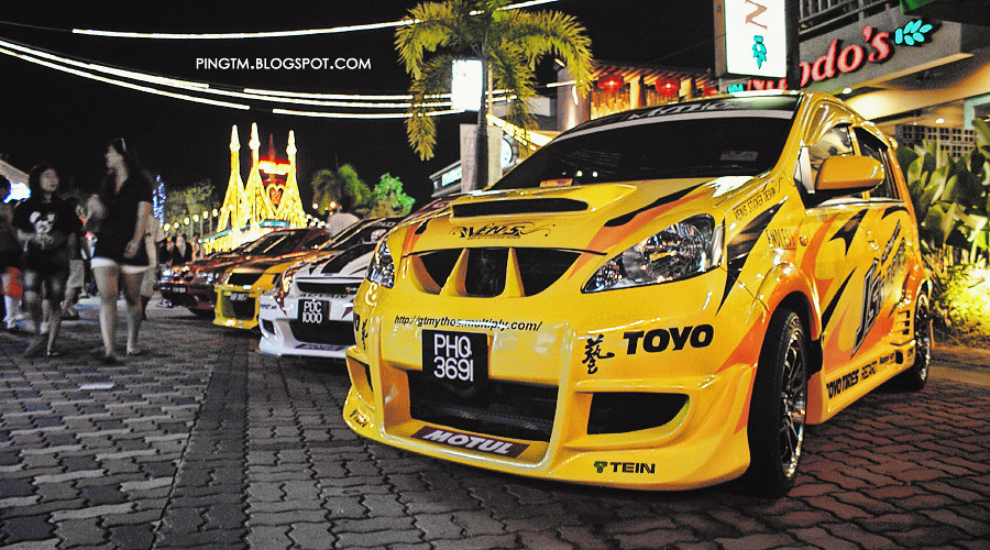 Yellow Viva Auto City Modify