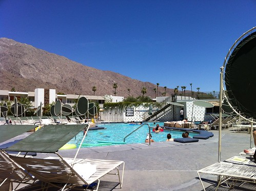 Pool area at Ace Palm Springs.